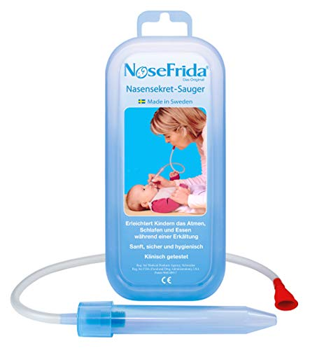 Rotho Babydesign Nasensekretsauger, Inkl. 4 Hygienefilter,...
