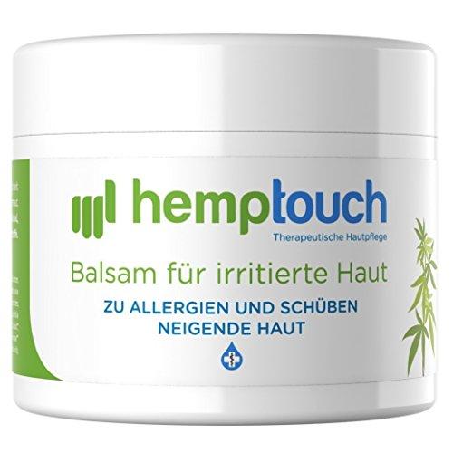 Hanf Salbe - 40-60 mg - Hanföl Balsam für Irriterte Haut -...