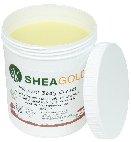 SheaGold Sheabutter kalt gepresst unraffiniert 500gr.