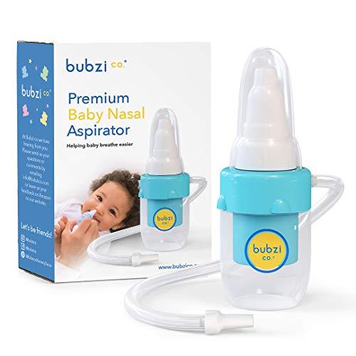 Bubzi Co Premium Nasensauger für Baby, weiches Silikon,...