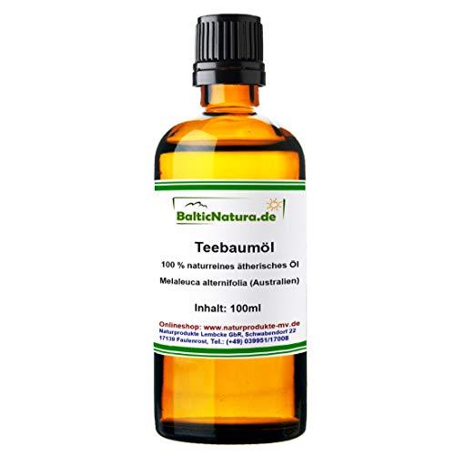 Teebaumöl 100 ml 100% naturreines ätherisches Öl