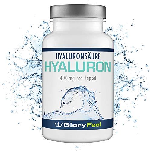 Hyaluronsäure Kapseln Hochdosiert 400mg - PLUS Coenzym Q10...
