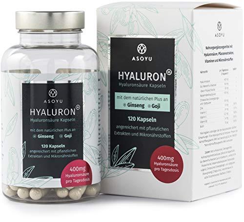 Hyaluronsäure Kapseln mit dem natürlichen Plus -...