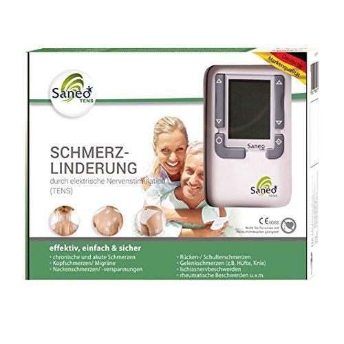 SaneoTENS Schmerzlinderung * deutsche Markenqualität *...