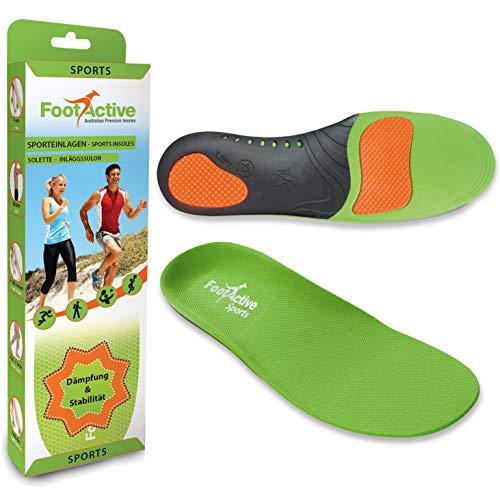 FootActive SPORT - Einlegesohlen für Sport, Freizeit und...