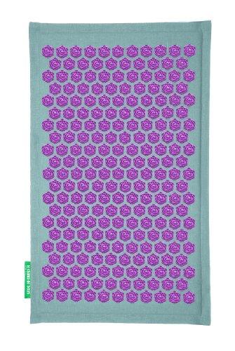 Blumenfeld-Matte türkis-violett