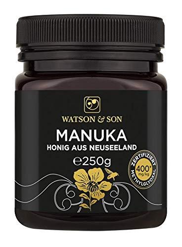 Watson & Son Manuka Honig MGO 400+ 250g | Zertifizierte...